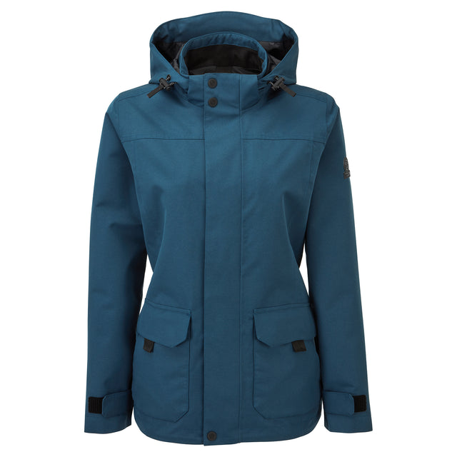 Beamsley Womens Waterproof Jacket - Atlantic Blue image 6