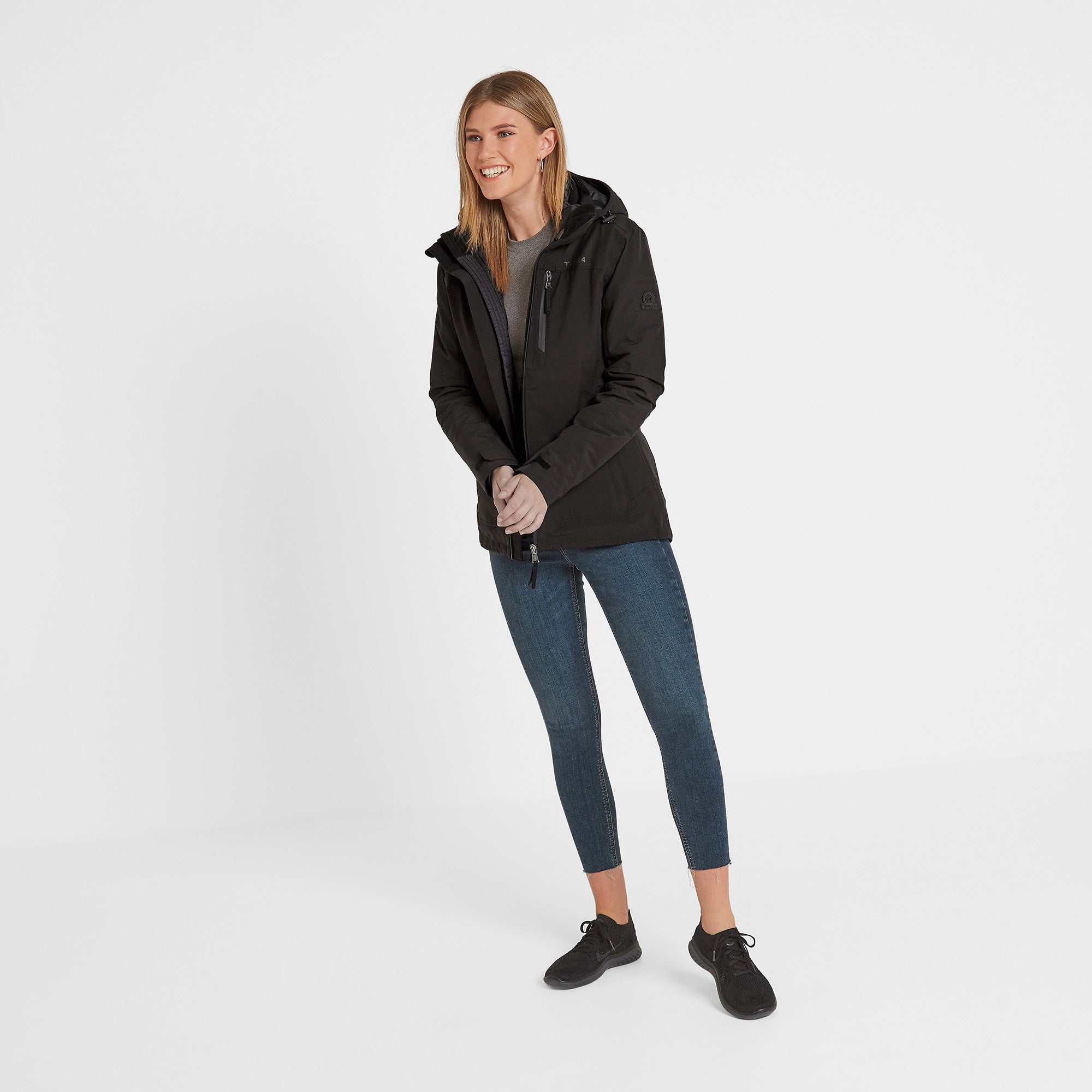 Beverley Womens Waterproof 3-in-1 Jacket - Black