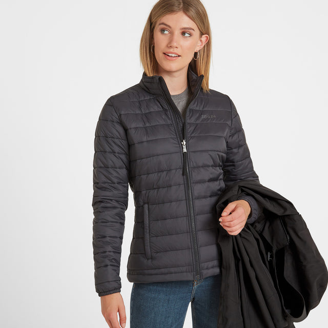 Beverley Womens Waterproof 3-in-1 Jacket - Black image 5
