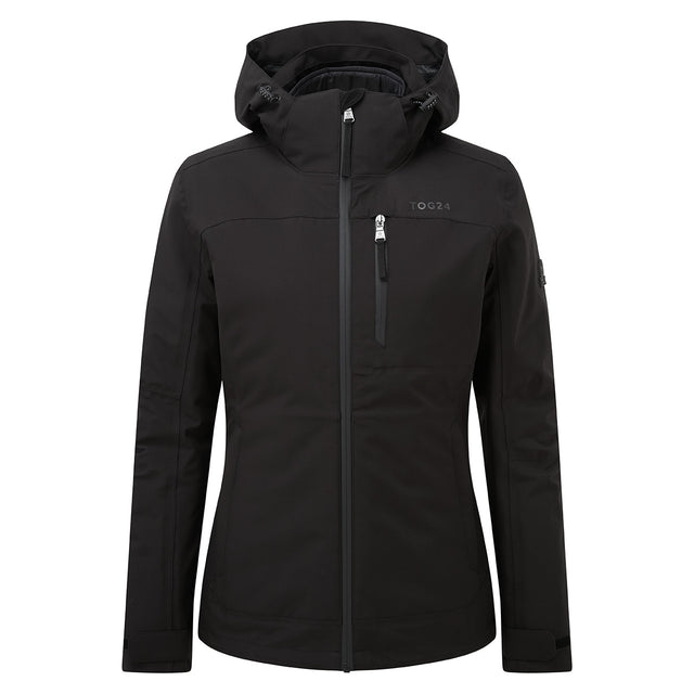 Beverley Womens Waterproof 3-in-1 Jacket - Black image 7