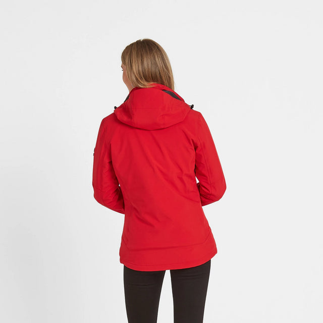 Beverley Womens Waterproof 3-In-1 Jacket - Rouge Red image 2