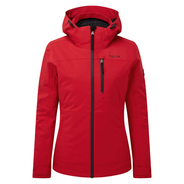Beverley Womens Waterproof 3-In-1 Jacket - Rouge Red image 6