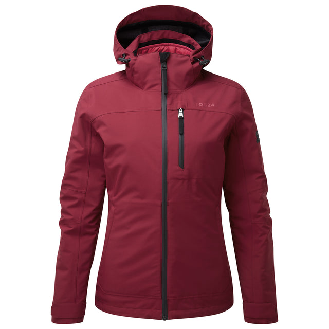 Beverley Womens Waterproof 3-in-1 Jacket - Raspberry image 3