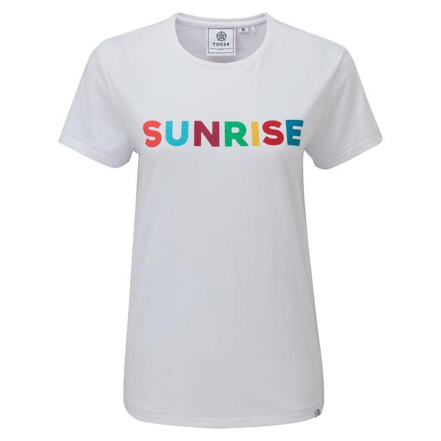 Bilton Womens Sunrise T-Shirt - Optic White image 3