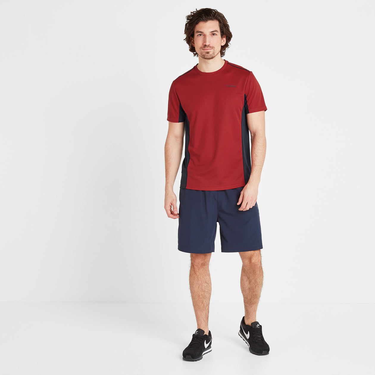 Blackwell Mens Tech T-Shirt - Chilli Red image 4
