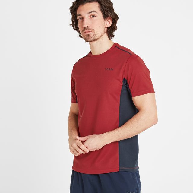 Blackwell Mens Tech T-Shirt - Chilli Red image 1
