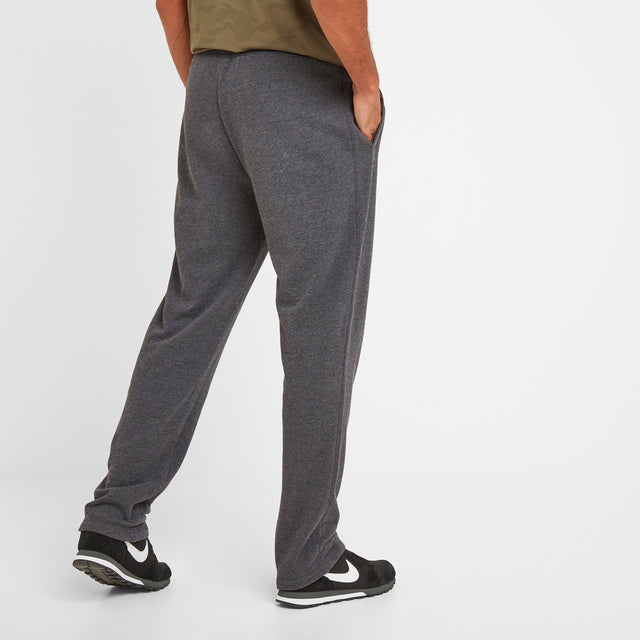 Bradley Mens Sweat Pants - Dark Grey Marl image 3