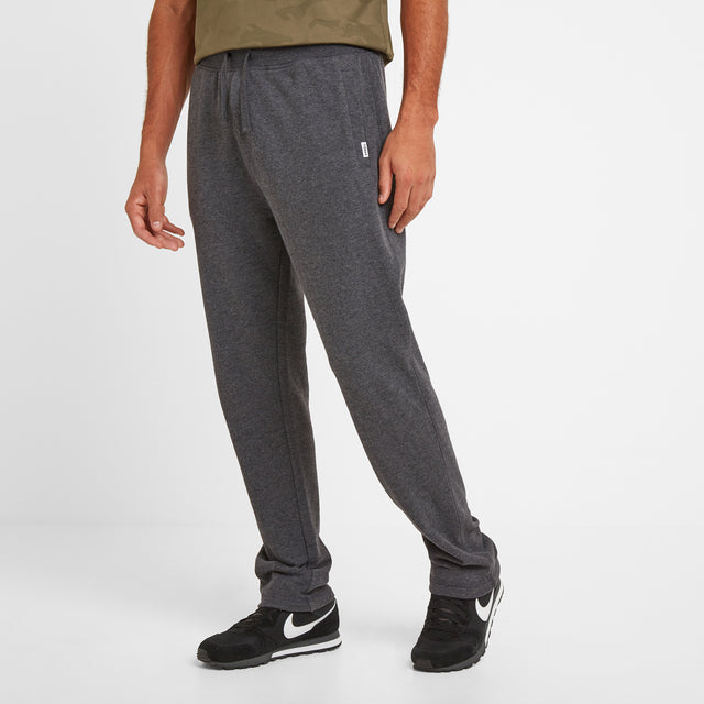 Bradley Mens Sweat Pants - Dark Grey Marl image 2