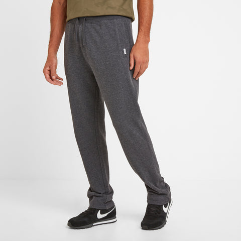 Bradley Mens Sweat Pants - Dark Grey Marl