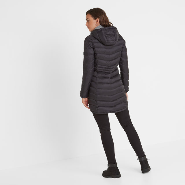 Bramley Womens Down Jacket - Black image 3