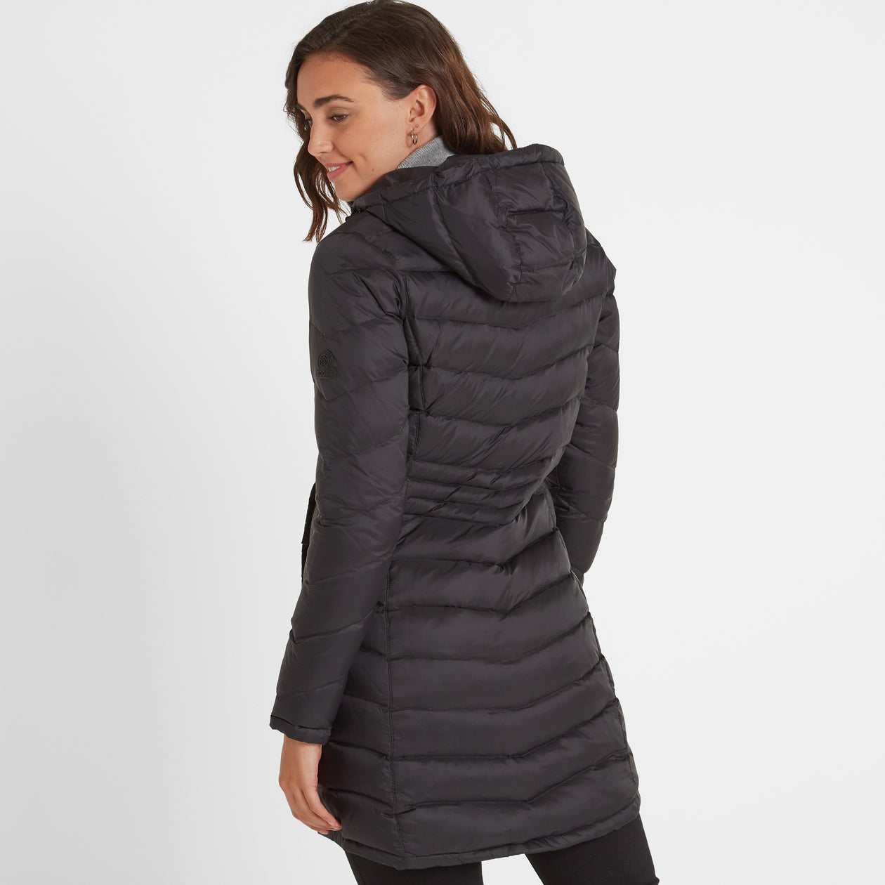 Bramley Womens Down Jacket - Black image 4