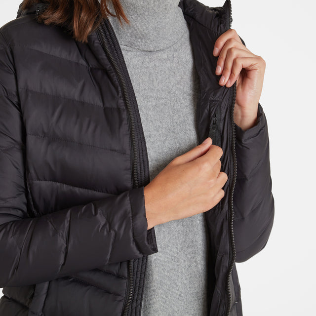 Bramley Womens Down Jacket - Black image 5