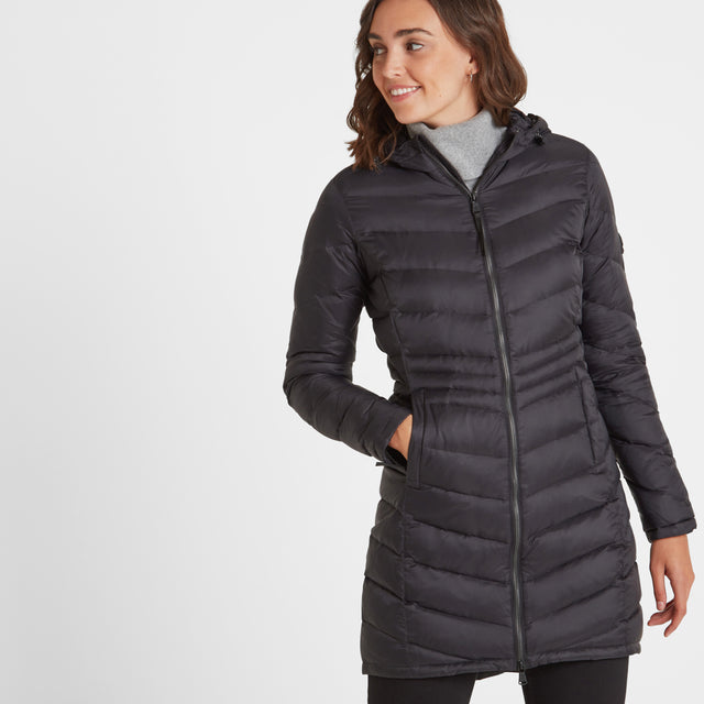 Bramley Womens Down Jacket - Black image 1