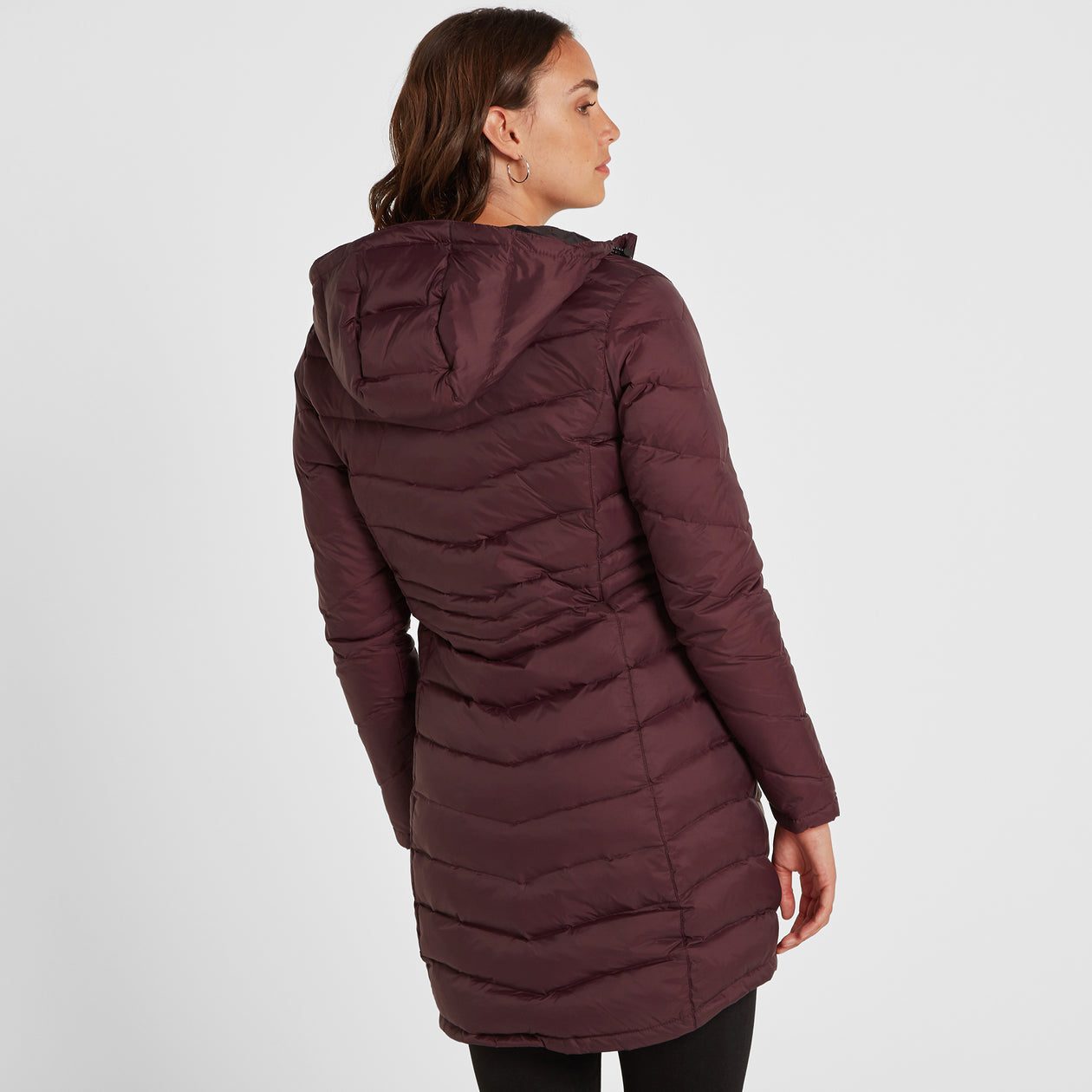 Bramley Womens Down Jacket - Deep Port image 4