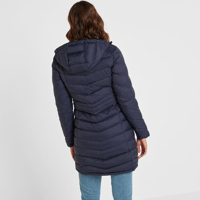 Bramley Womens Down Jacket - Navy image 2