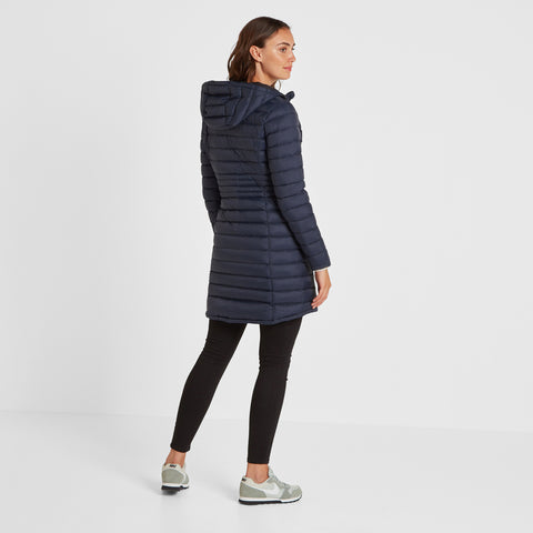 Bramley Womens Down Jacket - Navy