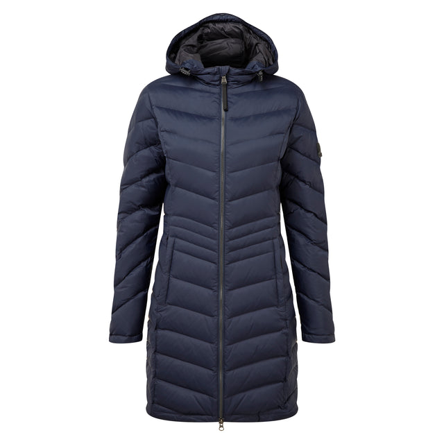 Bramley Womens Down Jacket - Navy image 1