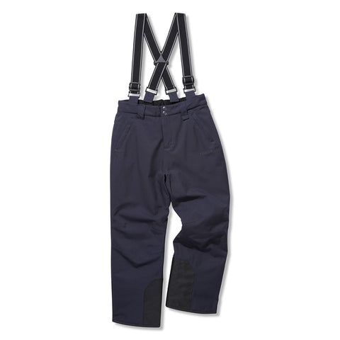 Brent Kids Waterproof Insulated Ski Pants - Navy