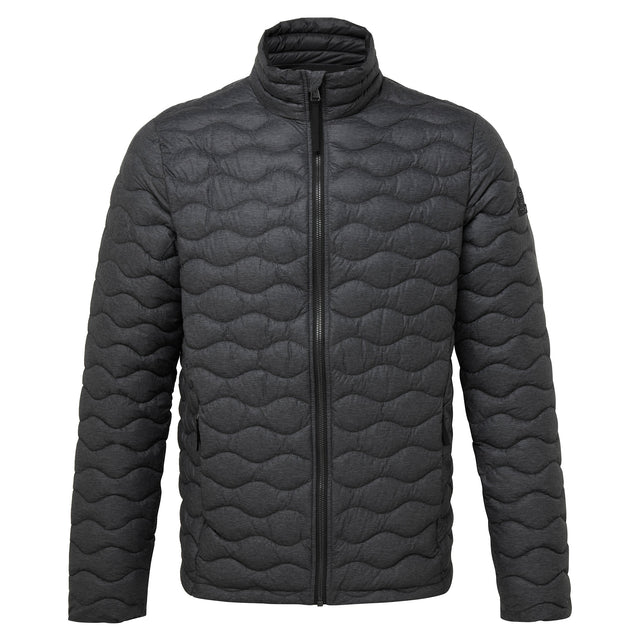 Brimham Mens Thermal Jacket - Dark Grey Marl image 6