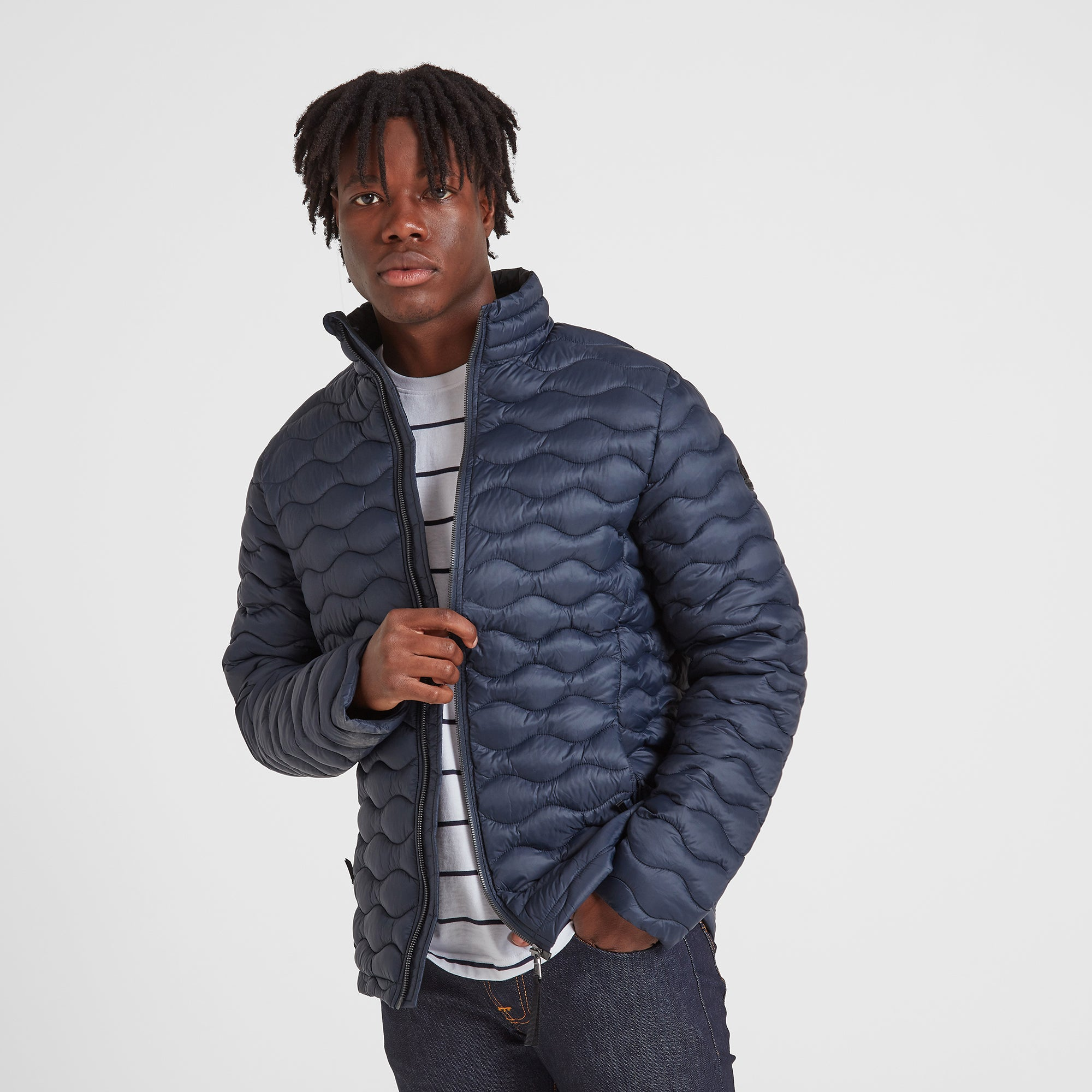 Brimham Mens Thermal Jacket - Dark Indigo