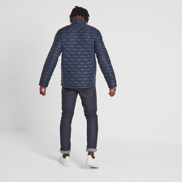 Brimham Mens Thermal Jacket - Dark Indigo image 3