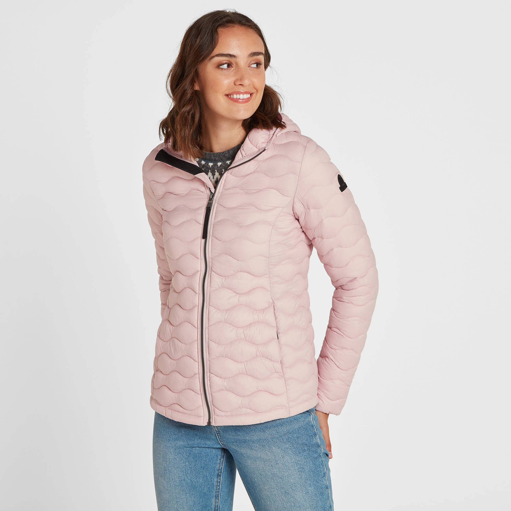 Brimham Womens Thermal Jacket - Rose Pink