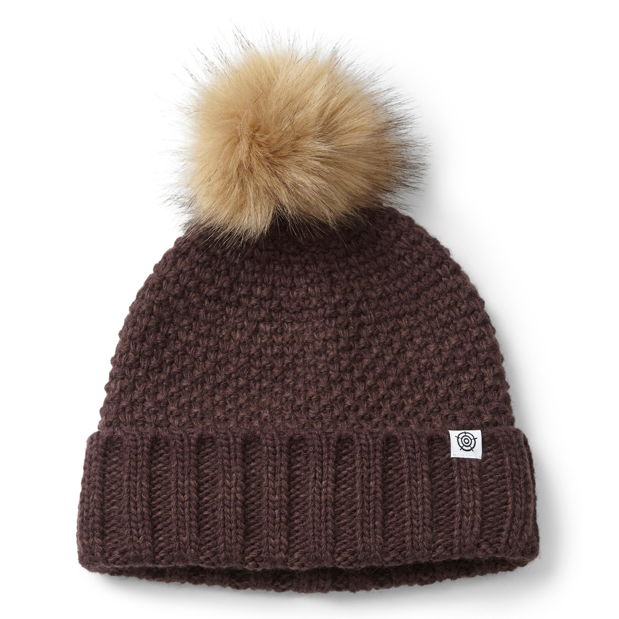 Bristol Knit Beanie Hat - Deep Port Marl
