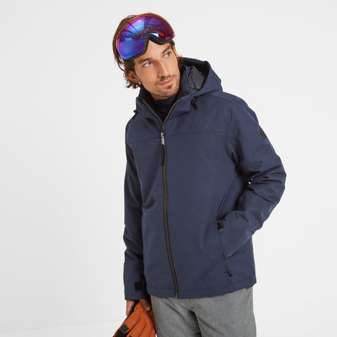 Cawood Mens Ski Jacket - Dark Indigo