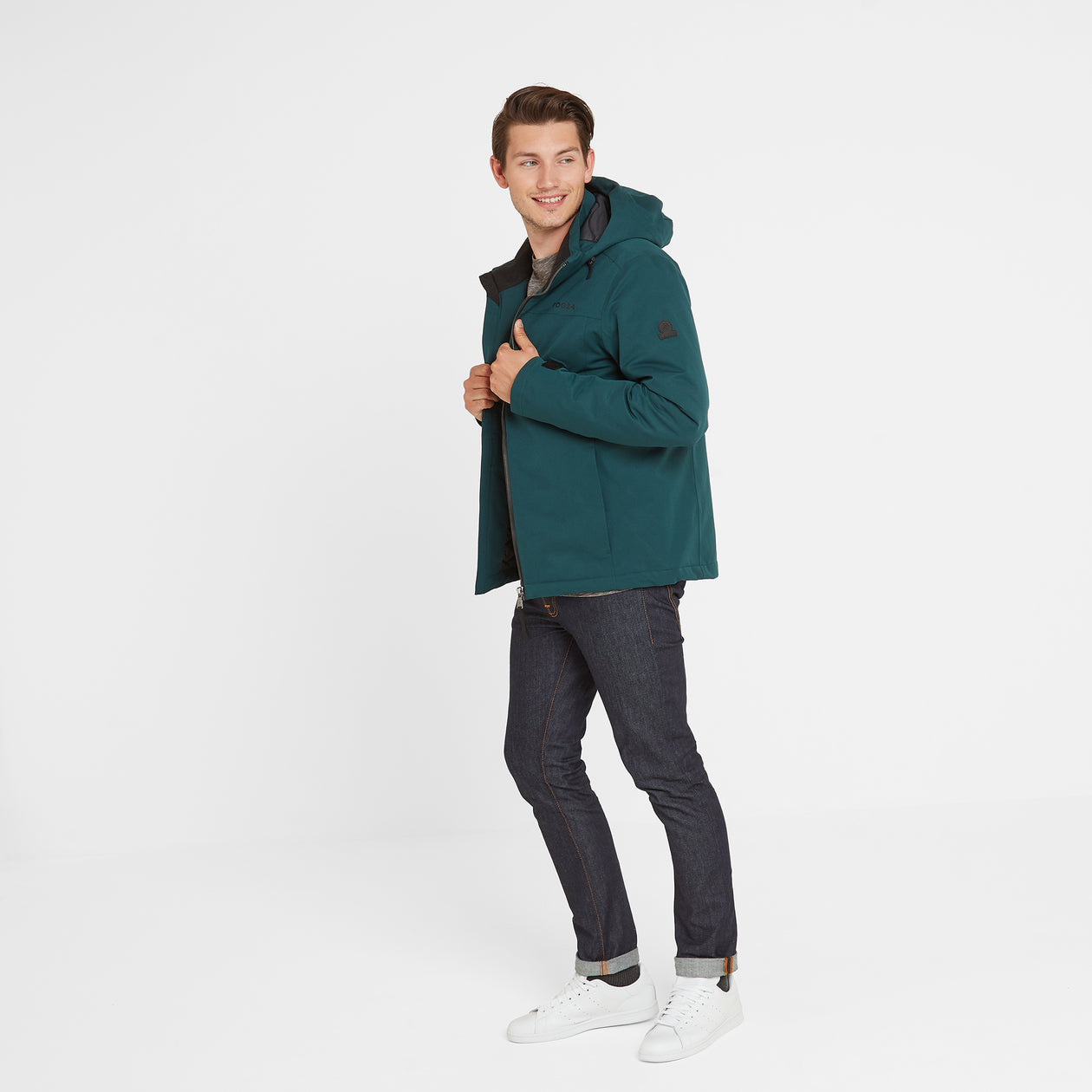 Cawood Mens Winter Jacket - Forest image 4