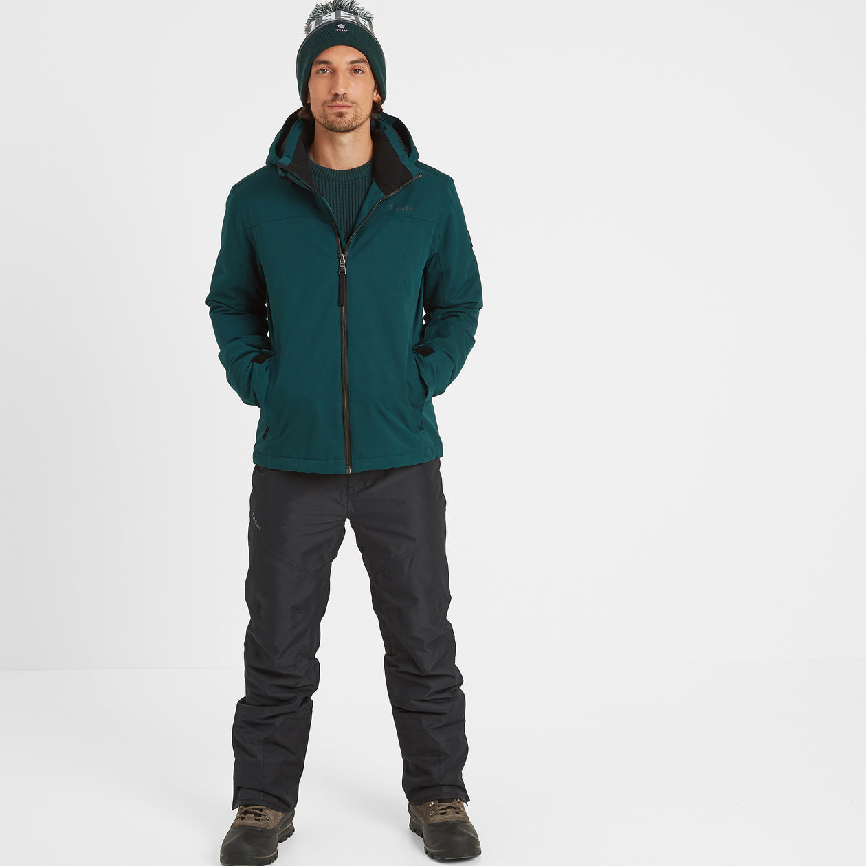 Cawood Mens Ski Jacket - Forest image 4