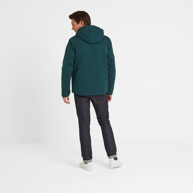 Cawood Mens Winter Jacket - Forest image 2