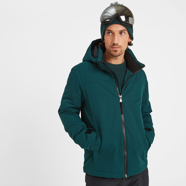 Cawood Mens Ski Jacket - Forest image 2