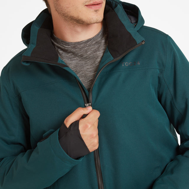 Cawood Mens Winter Jacket - Forest image 3