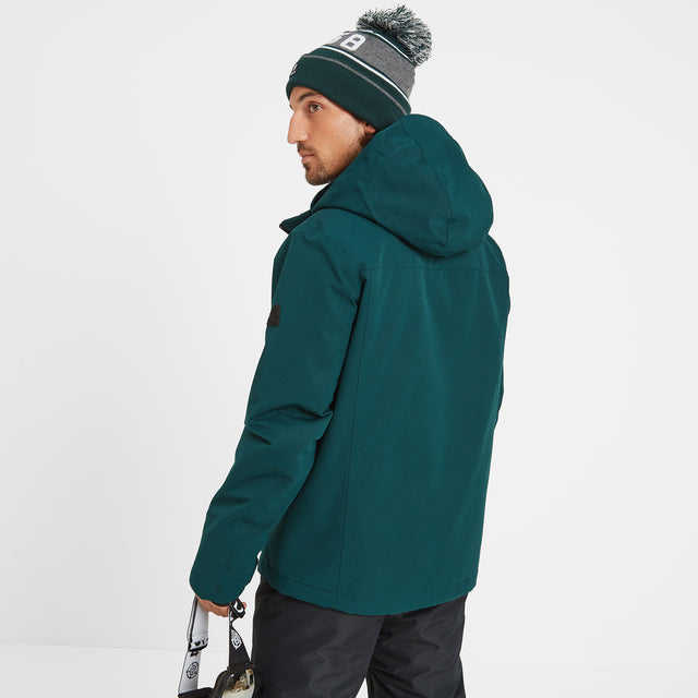 Cawood Mens Ski Jacket - Forest image 3