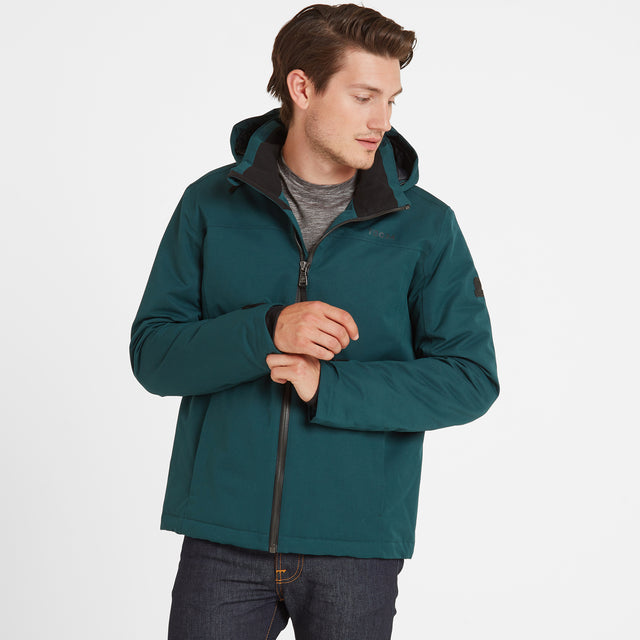 Cawood Mens Winter Jacket - Forest image 1