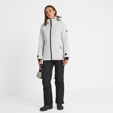 Cawood Womens Ski Jacket - Ice Grey