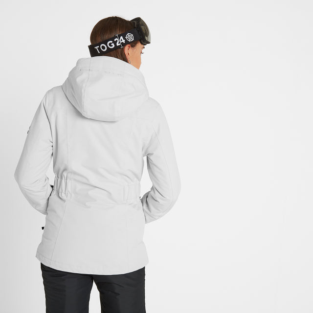 Cawood Womens Ski Jacket - Ice Grey image 2