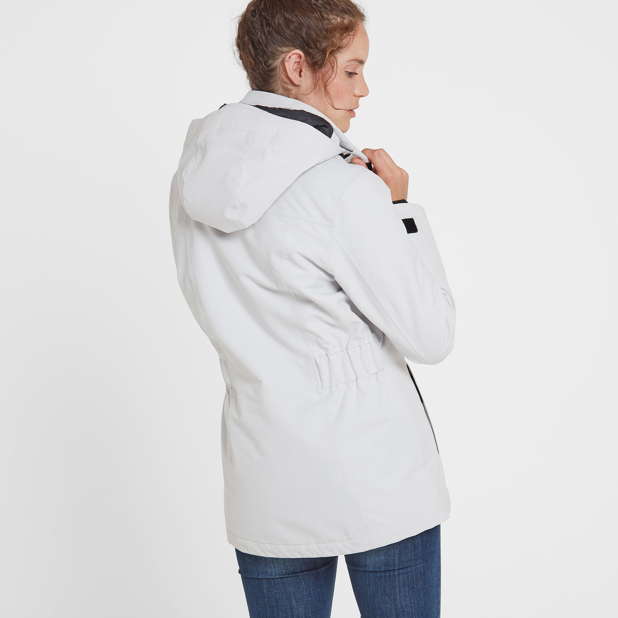 Cawood Womens Winter Jacket - Ice Grey image 4