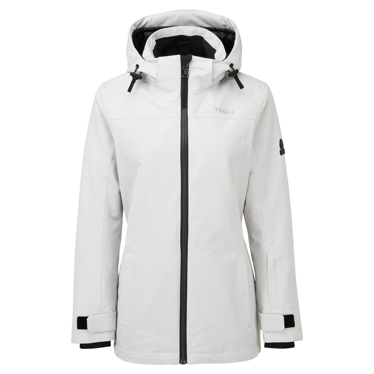 Cawood Womens Ski Jacket - Ice Grey image 4