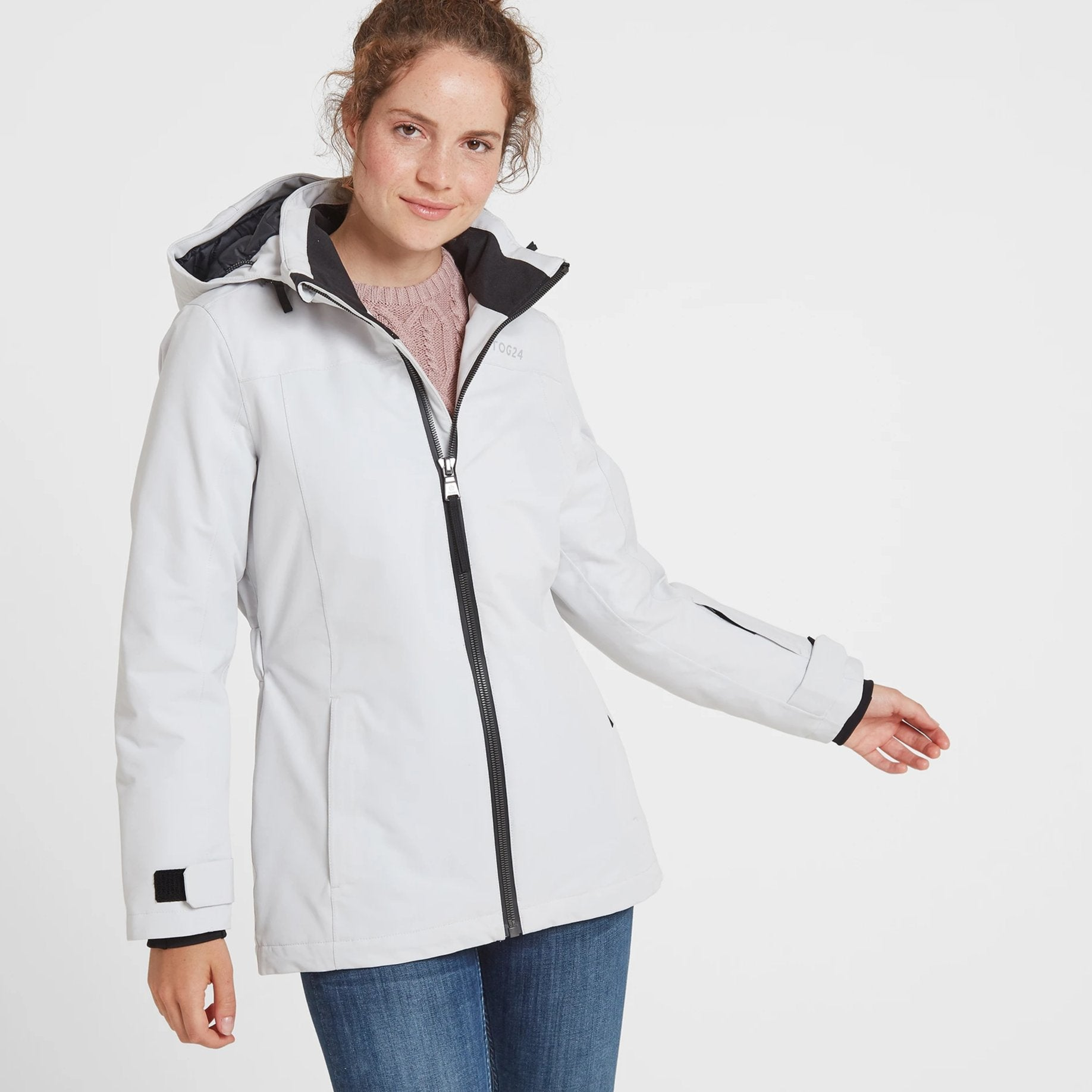 Cawood Womens Winter Jacket - Ice Grey