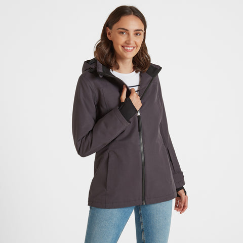 Cawood Womens Winter Jacket - Coal Grey