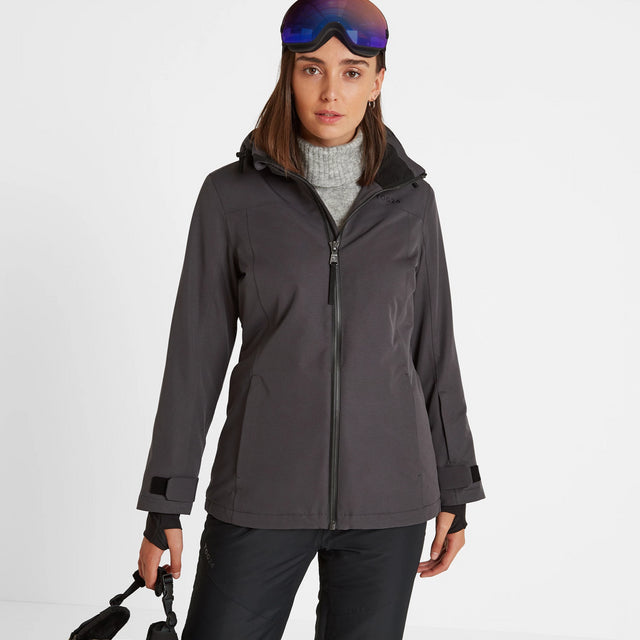 Cawood Womens Ski Jacket - Coal Grey image 1