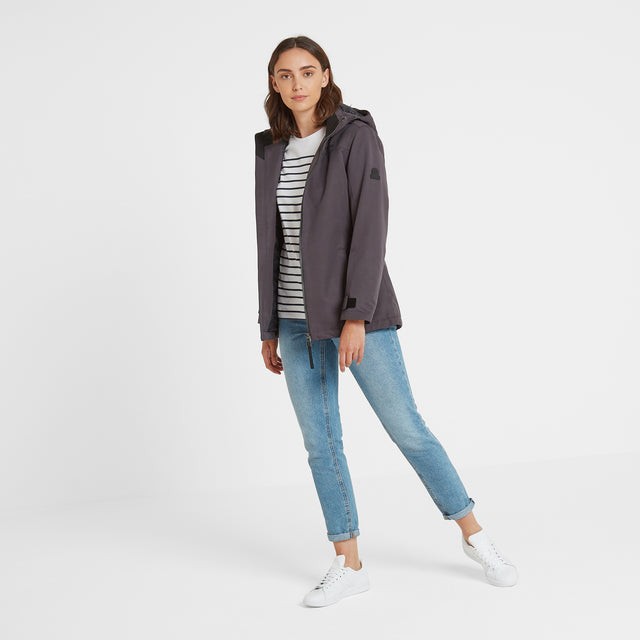 Cawood Womens Winter Jacket - Coal Grey image 3