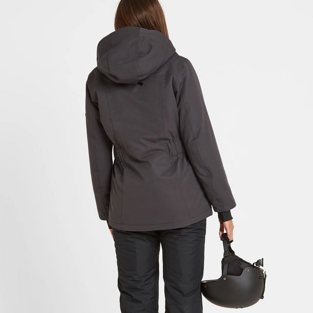 Cawood Womens Ski Jacket - Coal Grey image 2