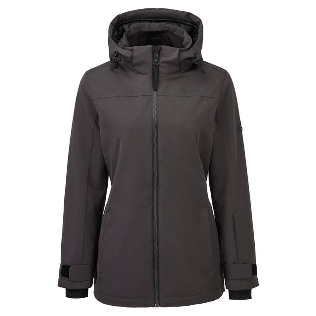 Cawood Womens Ski Jacket - Coal Grey image 5