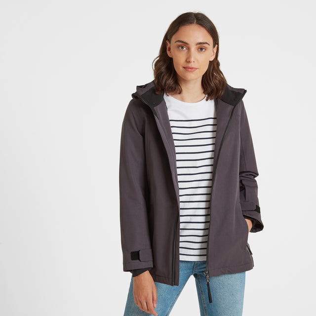 Cawood Womens Winter Jacket - Coal Grey image 1