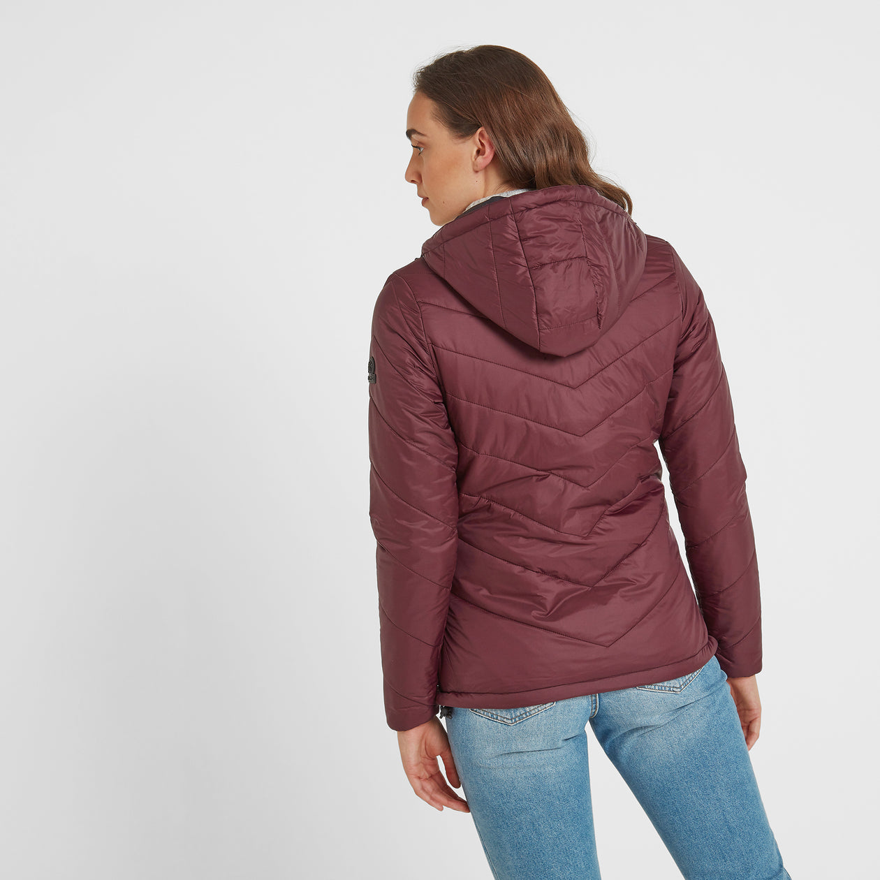 Clancy Womens TCZ Thermal Jacket - Deep Port image 4