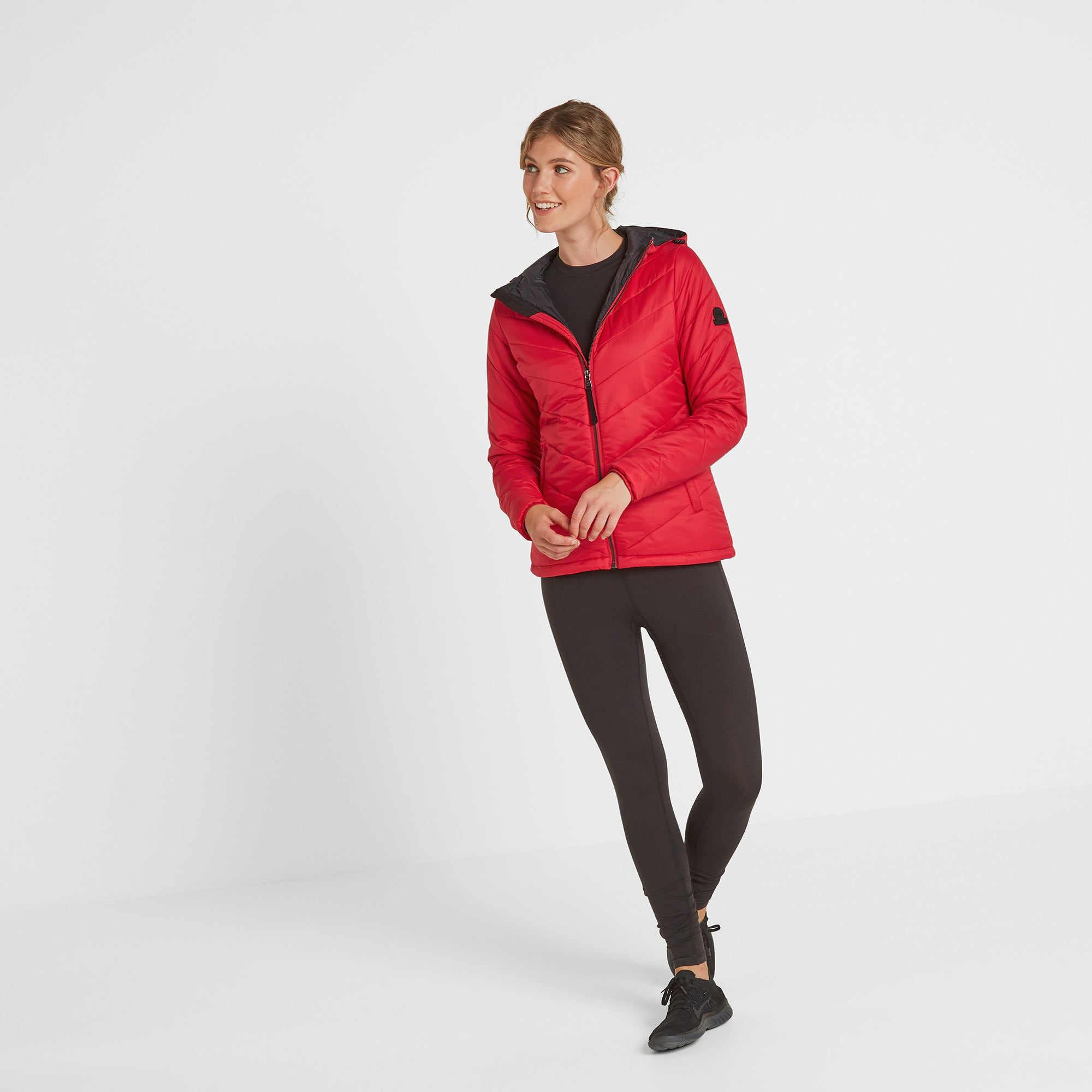 Clancy Womens TCZ Thermal Jacket - Rouge Red