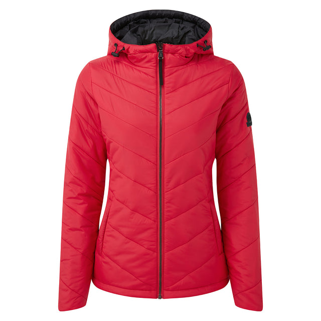 Clancy Womens TCZ Thermal Jacket - Rouge Red image 6