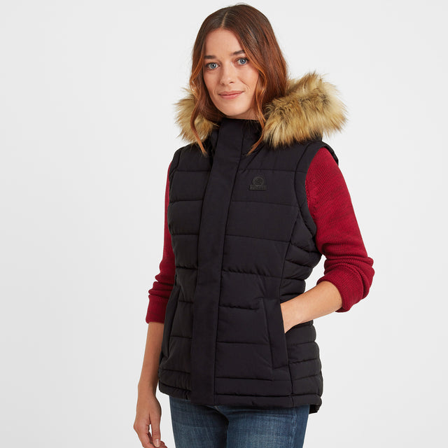 Cowling Womens Insulated Gilet - Black image 1